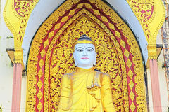 Four Buddha Image, Bago, Myanmar Royalty Free Stock Photography