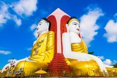 Four Buddhas Statue Stock Photos
