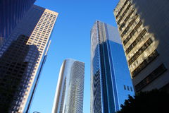 Four Buildings. This four buildings were taken in an upward view Stock Photo