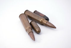 Four bullets Stock Image