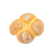 Four Buns Bread from above Royalty Free Stock Images