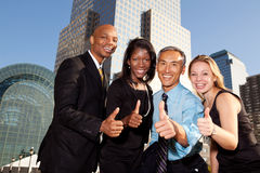 Free Four Business People Stock Image - 12196731