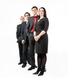 Four business people Stock Photo