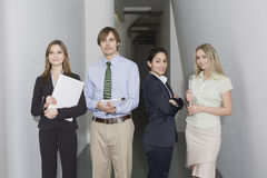 Four Business persons Stock Photos