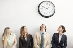 Four Business persons Stock Photography
