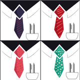 Four businessmen Royalty Free Stock Photography