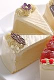 Four butter cakes Stock Photography