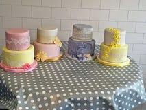 Four Cakes Stock Photo
