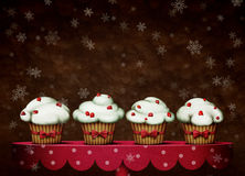 Four cakes Stock Images