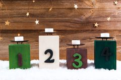 First advent stock photography
