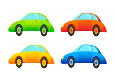 Four cars Stock Image