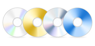 Four cd Stock Image
