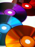 Four cd's Royalty Free Stock Image