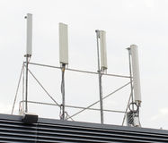 Four cellular towers Stock Photography