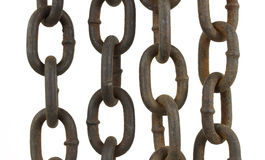 Four chains Stock Photography