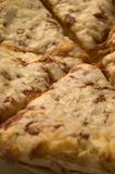 Four cheese pizza Royalty Free Stock Image