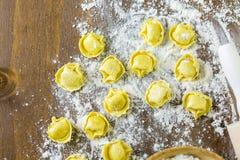 Four cheese tortellini Royalty Free Stock Photos