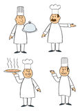 Four Chefs Stock Photos