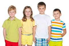 Four children Stock Photography