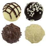 Four Chocolate candies Royalty Free Stock Image