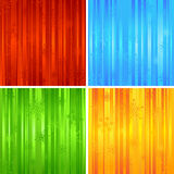 Four Christmas striped backgrounds. stock image