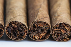 Four cigars Stock Photo