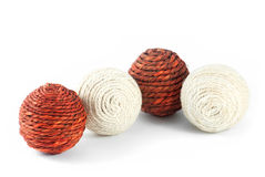 Four clews for knitting Stock Photography