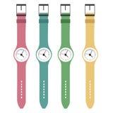 Four clocks Royalty Free Stock Image