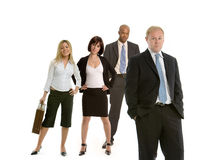 Four colleagues Royalty Free Stock Photography