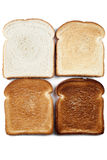 Four color image bread Stock Photography