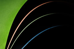 Four color lines paper background Stock Photography