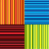 Four color stripes royalty free illustration