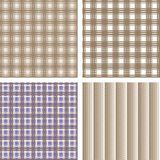 Four color variant of cross square fountain Stock Photography