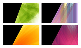 Abstract Business Cards Stock Photography
