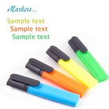 Four colorful markers Royalty Free Stock Photo