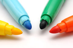 Four colors Stock Image