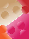 Four colors background Stock Image