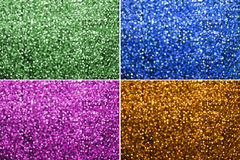 Multi colors Bokeh Background Royalty Free Stock Images