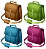 Four colourful bags Stock Image