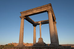 The four columns, Avila Royalty Free Stock Images