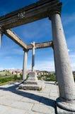The four columns, Avila. Castilla y Leon, Spain Stock Photography