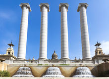 Four Columns Royalty Free Stock Image