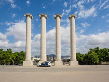 Four Columns Royalty Free Stock Photography