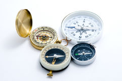 Four compass stock images