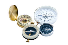 Four compass Royalty Free Stock Images
