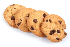 Four Cookies Stock Photography
