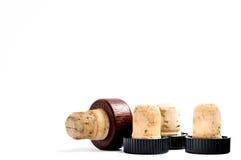 Four corks Stock Image