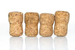 Four corks ref Stock Photography