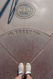 Four Corners Monument Stock Photo