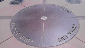 Four Corners National Monument Stock Photography